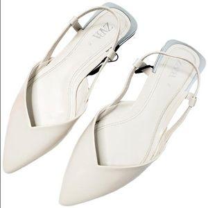 ZARA Slingback Ballerinas Flat
